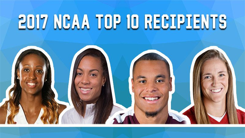 Four SEC student-athletes among 2017 NCAA Top 10