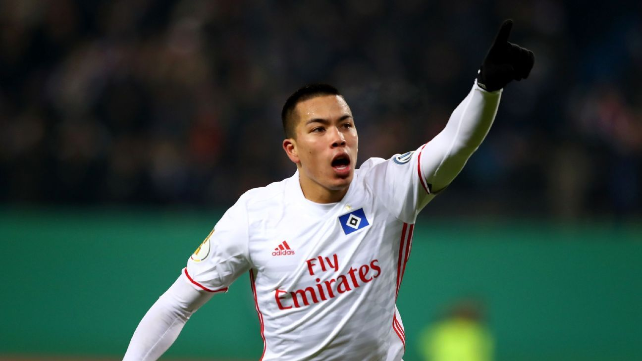 Bayern edge Wolfsburg to reach Pokal quarters; Bobby Wood lifts Hamburg