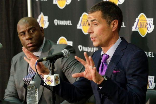 Magic: Lakers GM Pelinka was 'backstabbing'