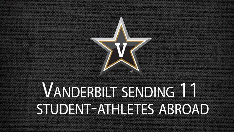 Vanderbilt student-athletes studying abroad