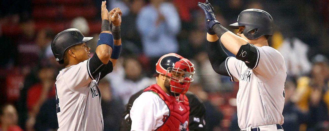 Casa de apuestas favorece a Yankees sobre Red Sox para ganar el Este de la Liga Americana