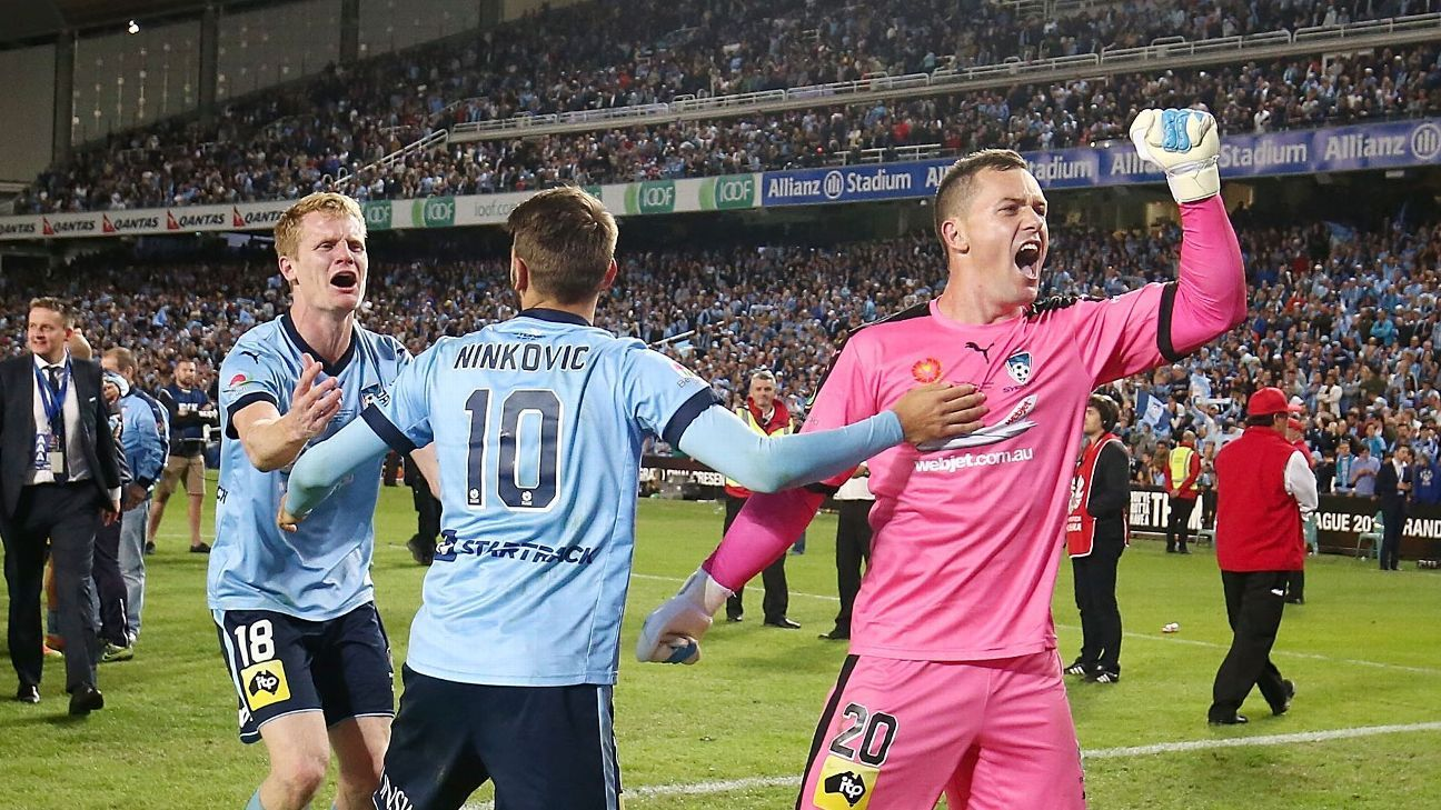 Sydney FC goalkeeper Danny Vukovic in talks with Racing Genk