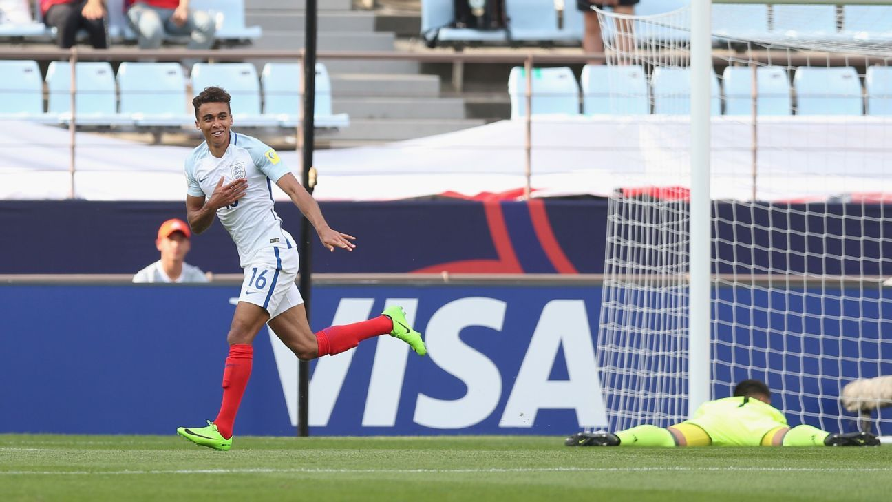 England cruise v Argentina in Under-20 World Cup, Germany lose to Venezuela