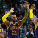 5b95a2230e LeBron James passes Michael Jordan as all-time NBA playoffs scorer
