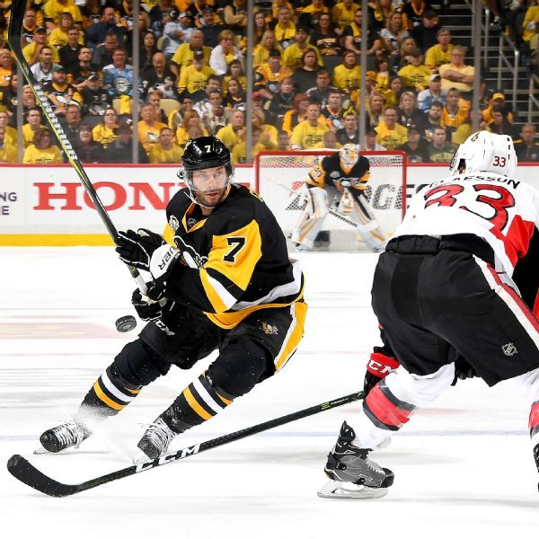 Penguins' Matt Cullen fined $1,000 by NHL for dangerous trip