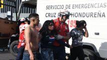 Fan stampede at Honduras football match kills four people, unborn fetus