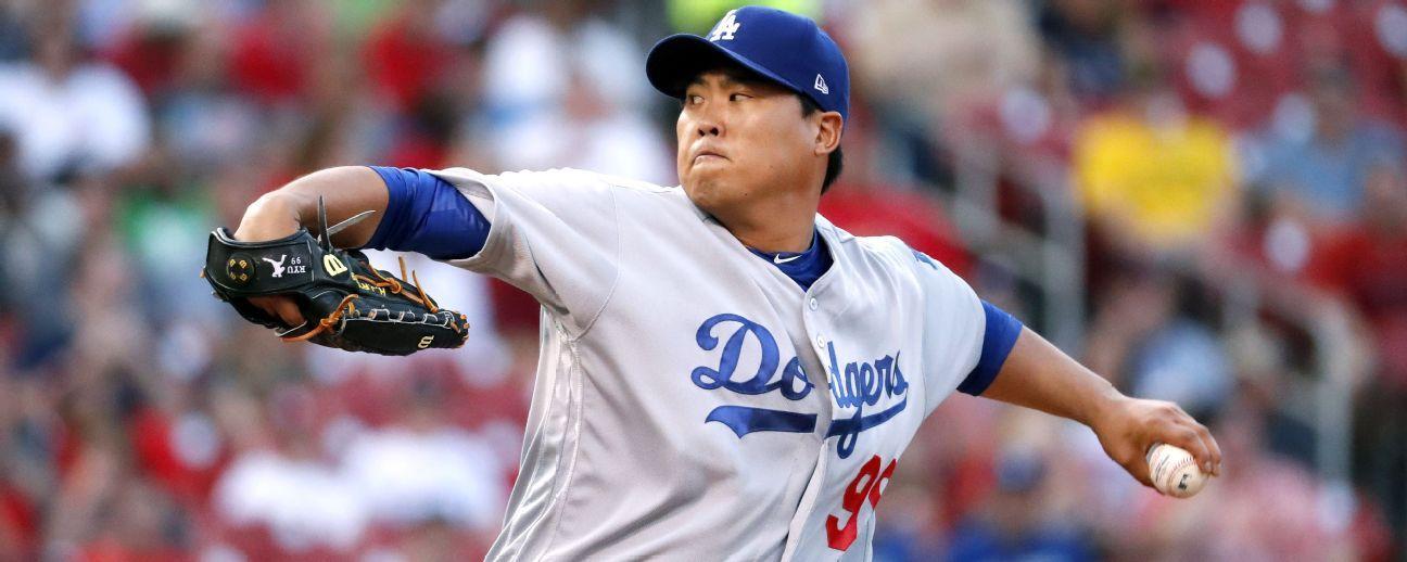 Hyun-Jin Ryu acepta oferta calificada de Dodgers
