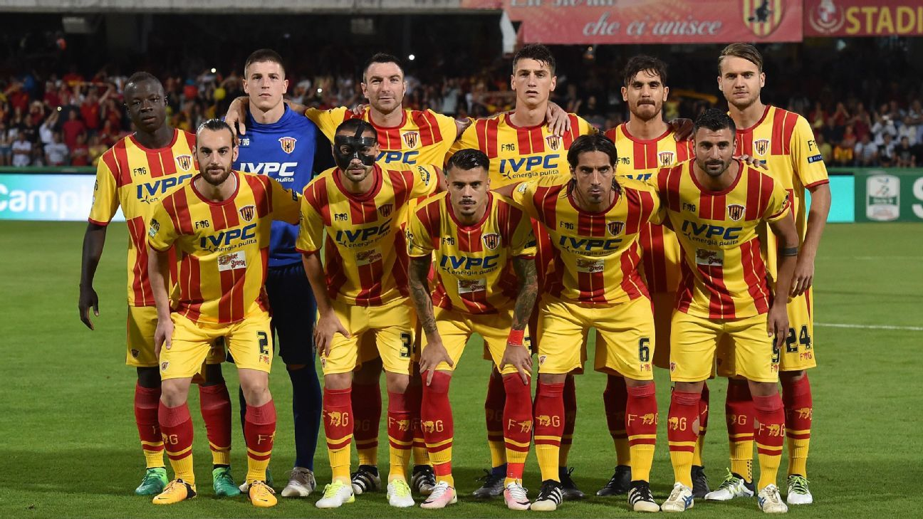 Benevento win playoff final to earn first promotion to Serie A