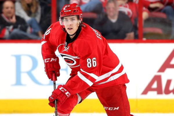 Teuvo Teravainen agrees to 5-year, $27M extension with Hurricanes