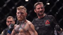 McGregor's coach confident star returns in 2019, prefers Diaz next
