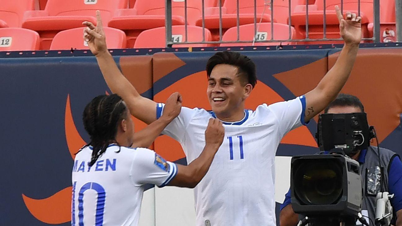 El Salvador's first-half double enough to see off Curacao