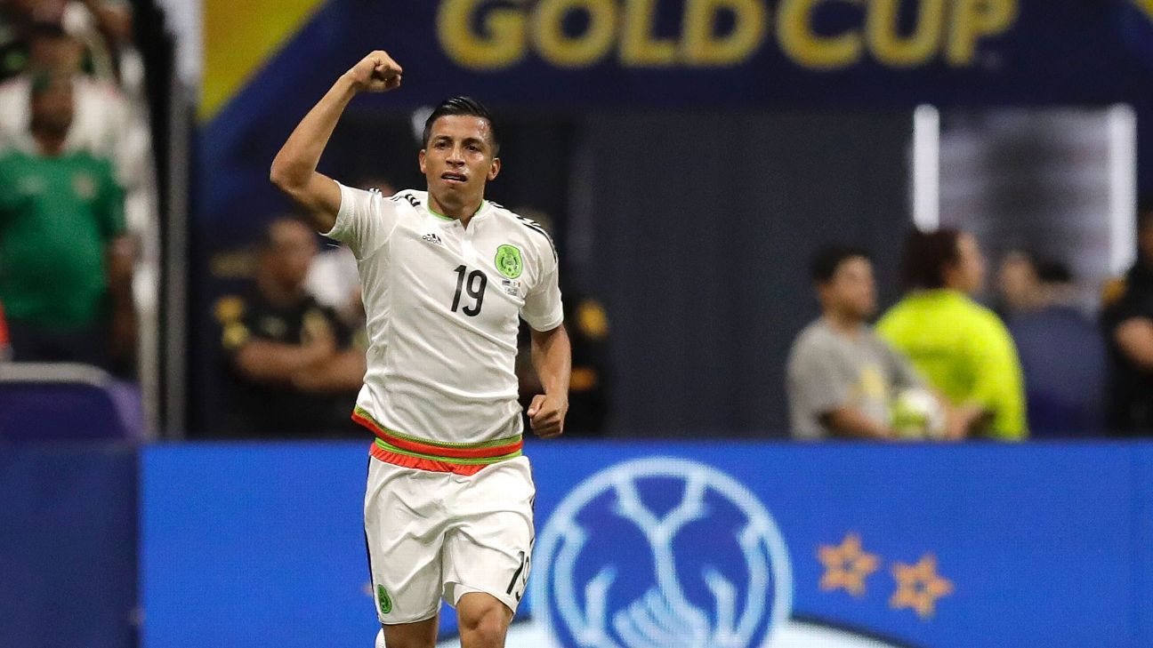 Corona keeps Mexico from slipping in win vs. Curacao to top Group C