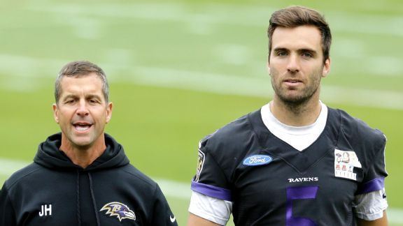 John Harbaugh's toughest decision on Joe Flacco is right one