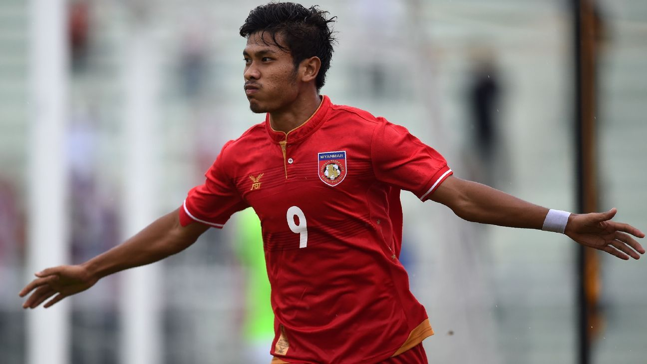 Myanmar striker Aung Thu signs with Police Tero in Thailand