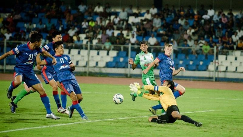 As it happened: Chhetri, Udanta help Bengaluru beat April 25 3-0