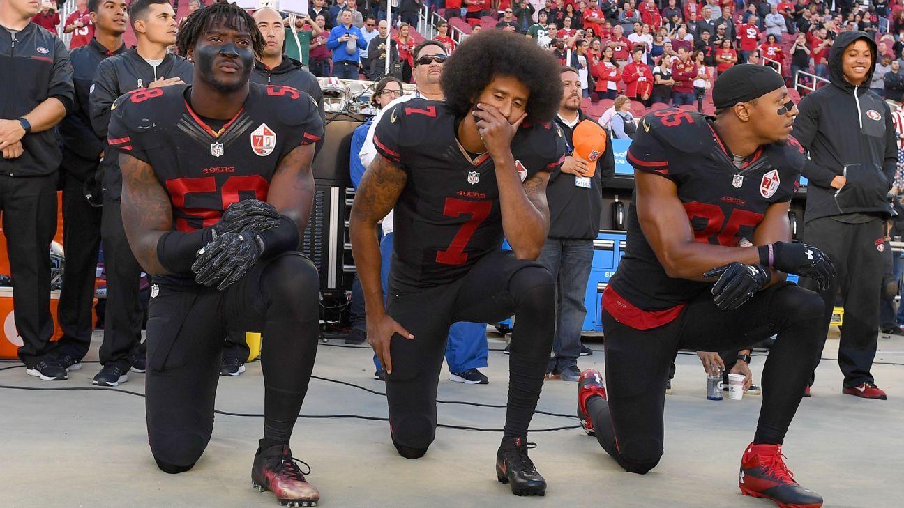 Anuncian acuerdo entre Kaepernick, Reid y la NFL por sus quejas contra la liga