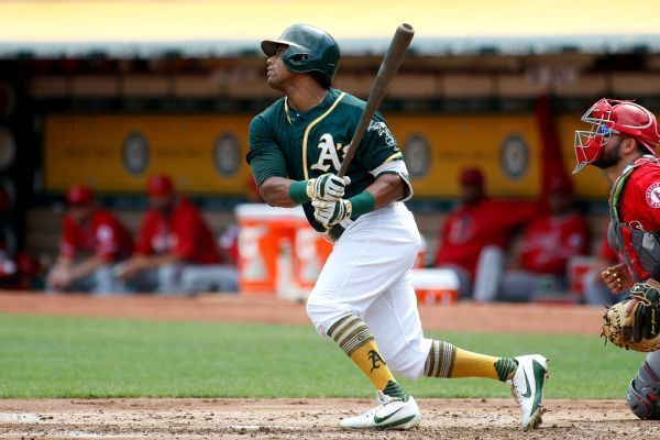 Khris Davis would like to stay with A's several years
