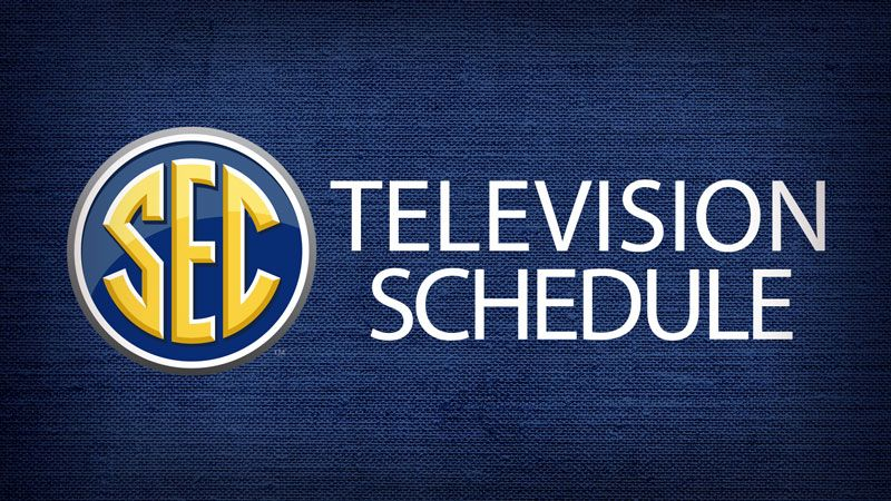 SEC football TV schedule for games on November 23