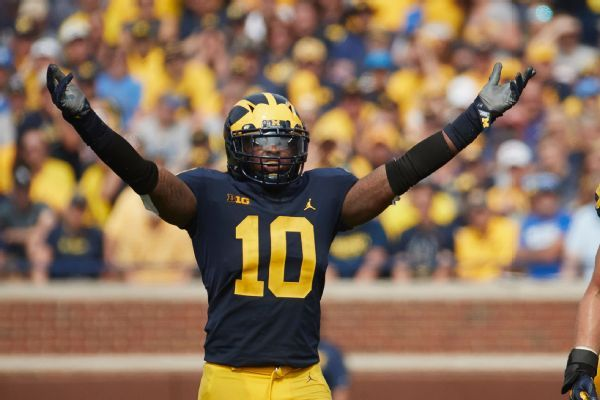 Josh Allen, Devin Bush among 5 linebackers up for Butkus Award