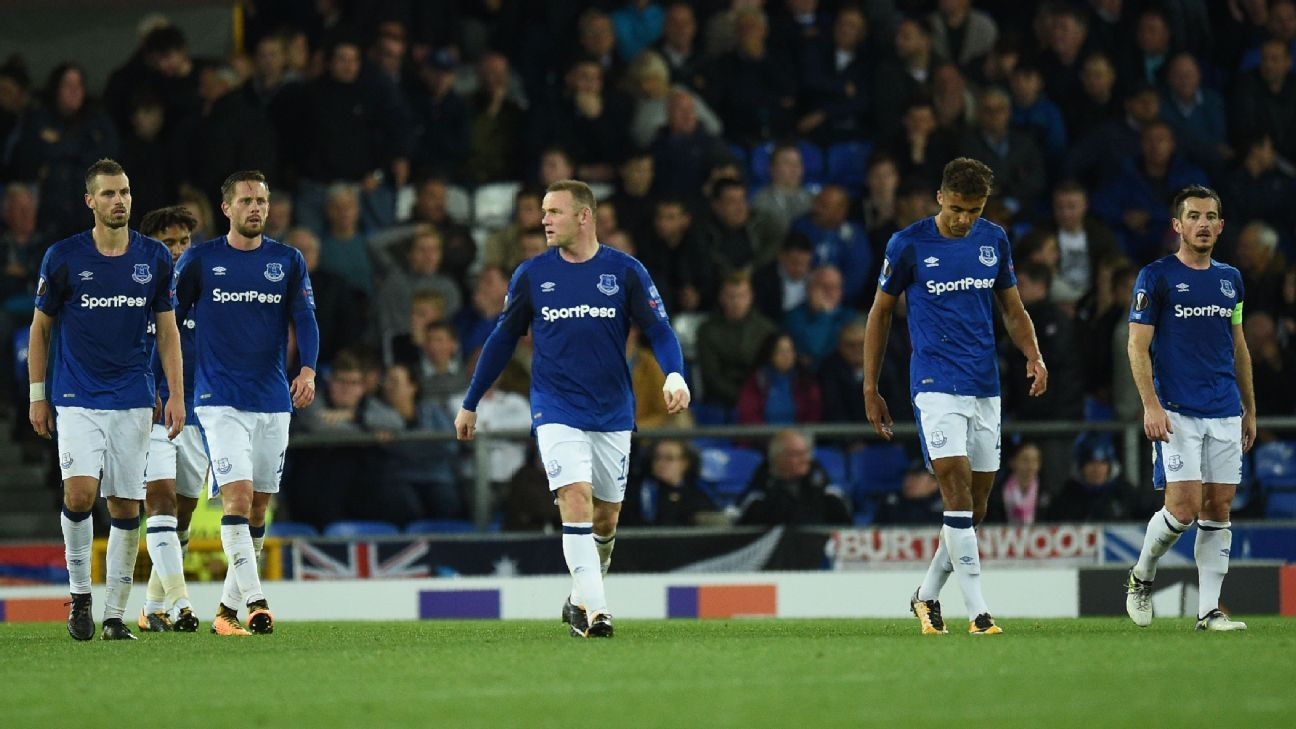 Everton stumble to late draw vs. 10-man Apollon Limassol