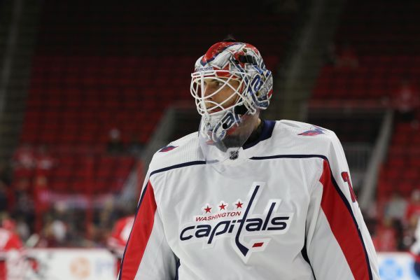 Capitals' Braden Holtby to return from eye injury, start vs. Isles