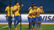 Brazil stamp their authority ahead of Germany showdown