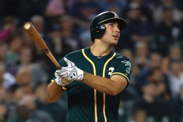 A's Gold Glove 1B Olson has hand surgery