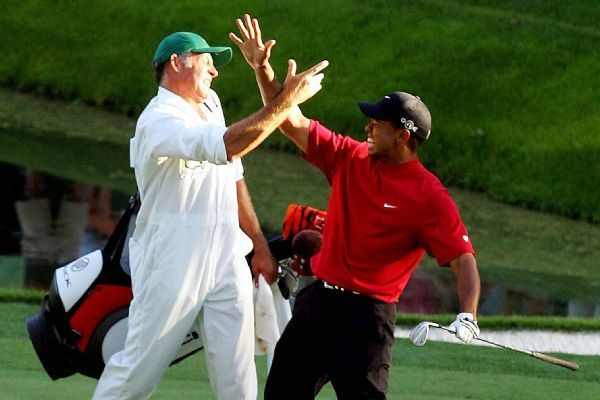 Tiger's ex-caddie: Masters win re-energizes golf