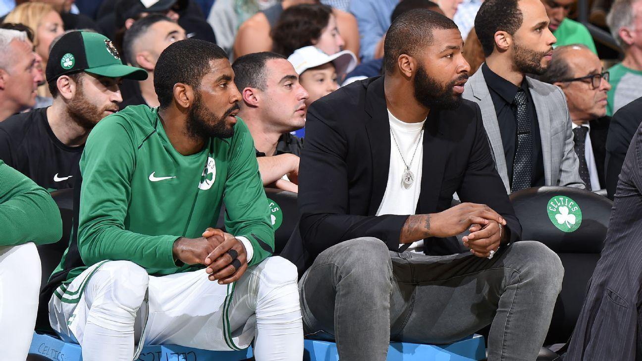 Marcus Morris, baja de Celtics ante Bulls