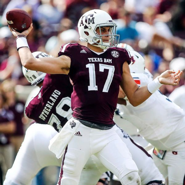 QB Nick Starkel looking to leave Texas A&M as grad transfer