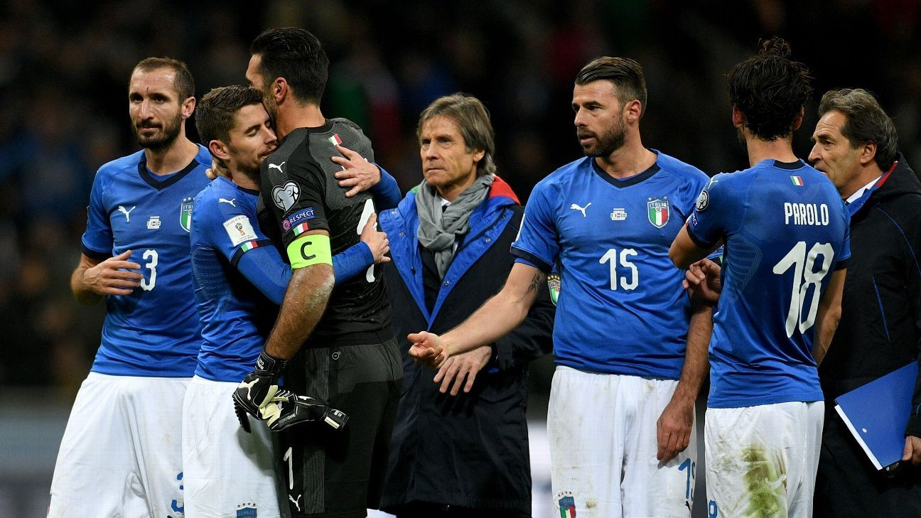 Como eram o futebol e o mundo quando a Itália ficou fora da Copa em 1958?