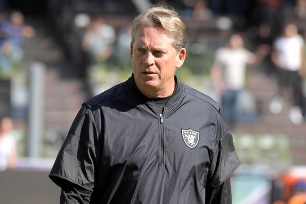 Jack Del Rio expected to be candidate for Bengals' defensive coordinator