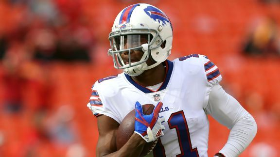 Will Bills' lack of a clear-cut No. 1 receiver hold them back?