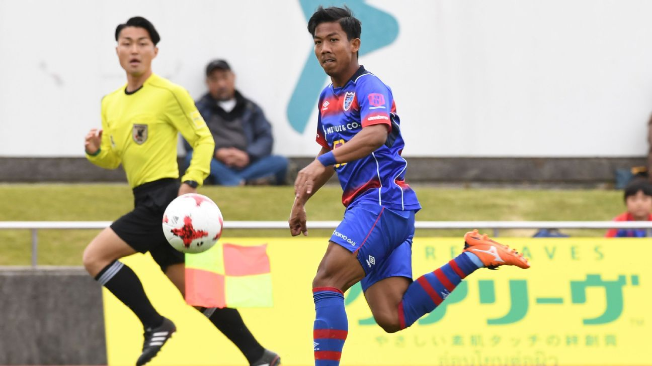 FC Tokyo starlet Jakkit Wachpirom becomes first Thai to score in J.League