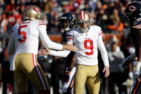 Shanahan: 49ers won't OK Gould's trade request