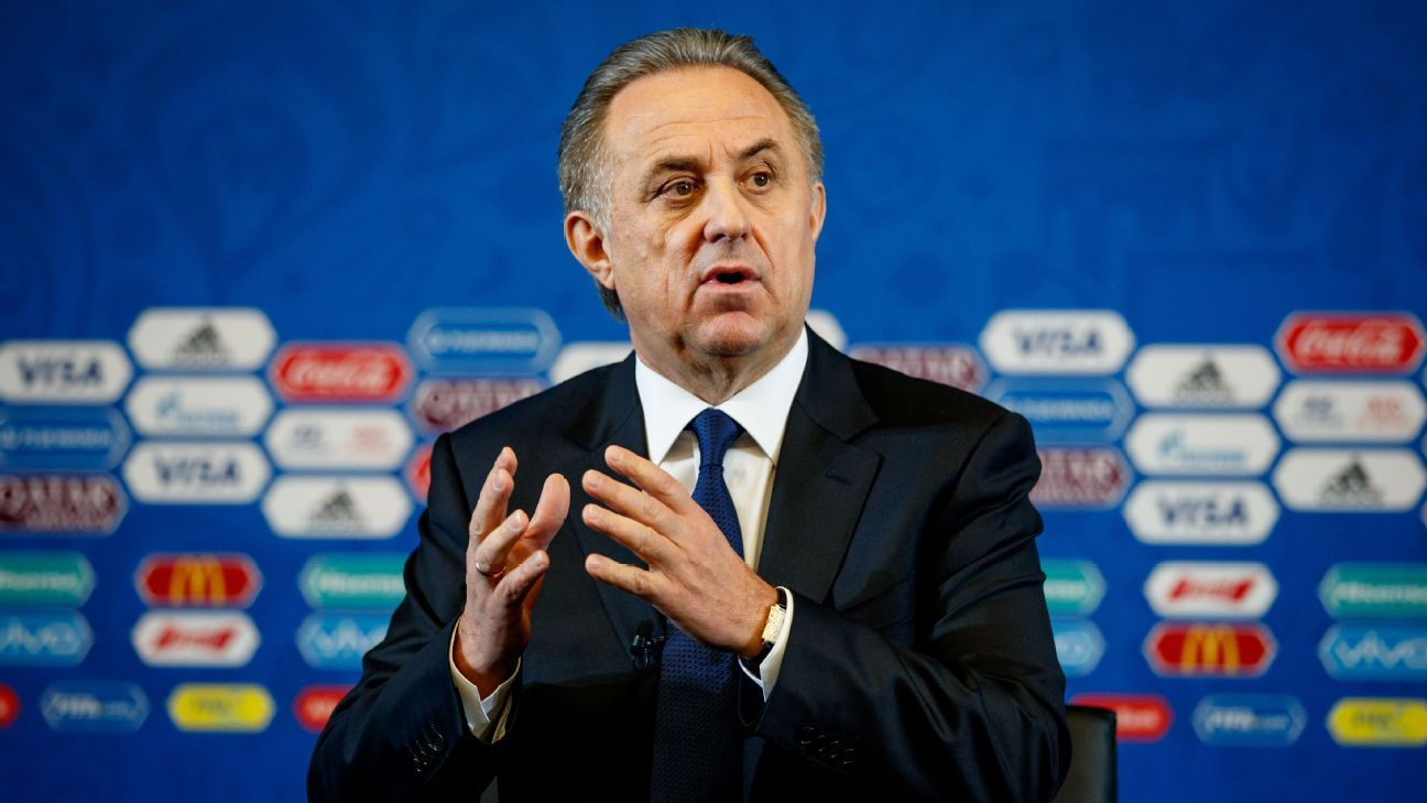 Controversial Russian deputy PM Vitaly Mutko quits Football Union role