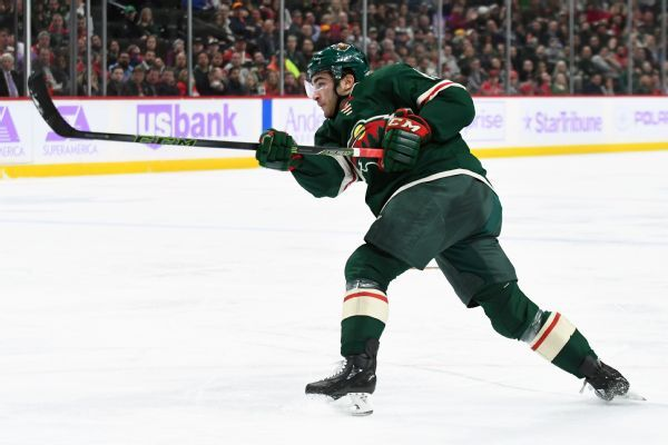 Wild call up Luke Kunin as fill-in for injured captain Mikko Koivu