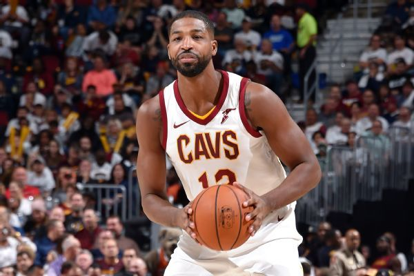 Tristan Thompson out 2-4 weeks with sprained foot