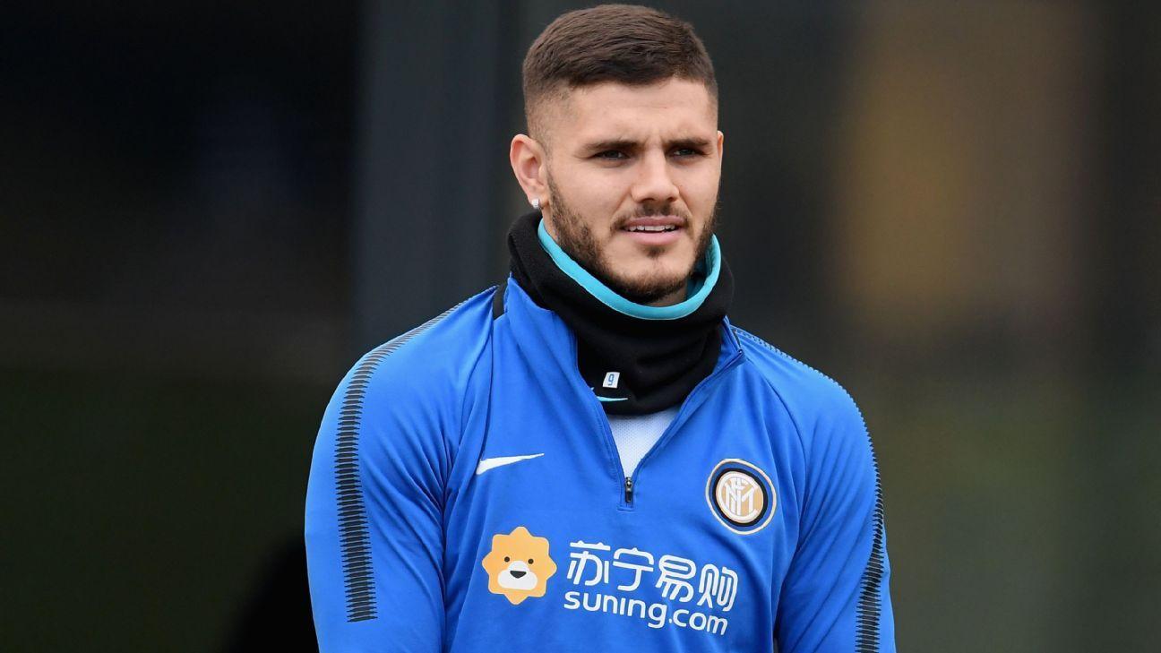 Mauro Icardi volverá a entrenarse con el Inter