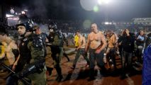 Five Croats jailed after massive brawl at Belgrade derby