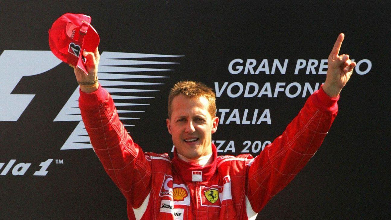 Fórmula 1: Mulher de Schumacher manda rara carta sobre o piloto, que luta pela vida