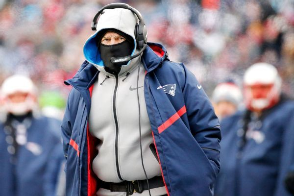 Bill Belichick not accepting any excuses for AFC title game, especially weather