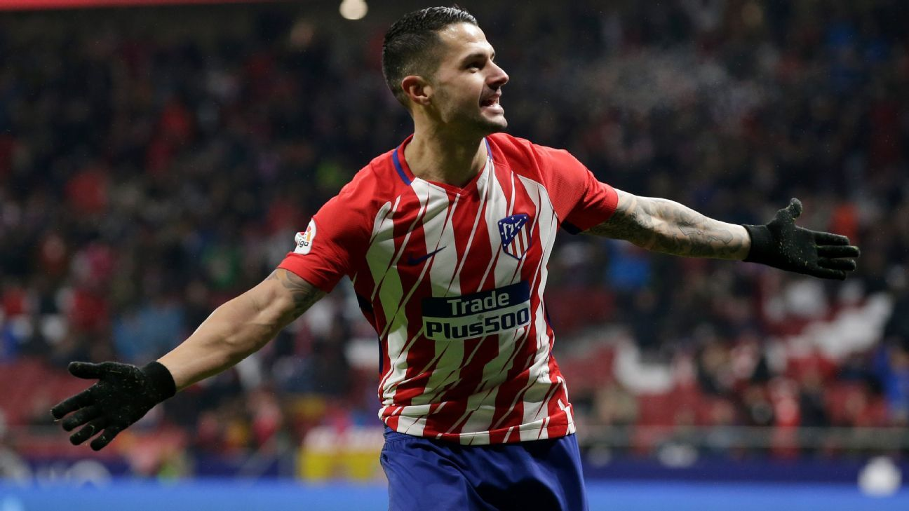 Vitolo nets first goal for Atletico Madrid in Copa victory