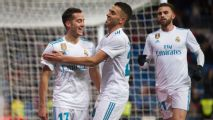 Vazquez double as Real Madrid cruise into Copa quarterfinals