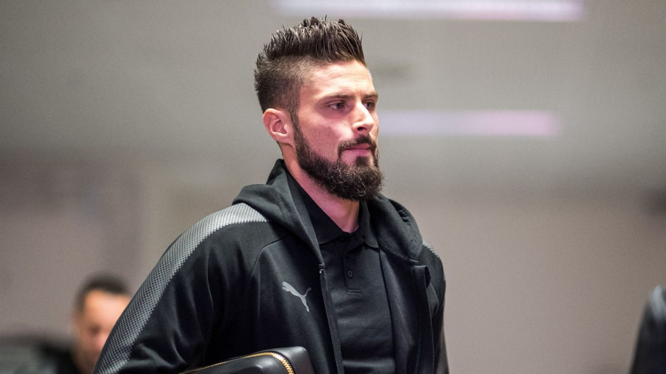 Olivier Giroud: Football is a long way from accepting openly gay players
