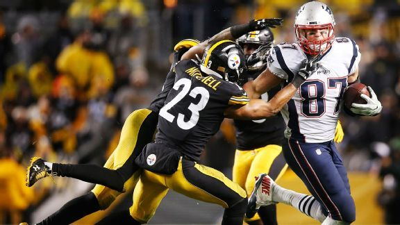 Can Pittsburgh finally tame Steelers killer Rob Gronkowski?