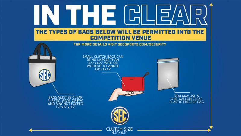 Clear bag policy in place for basketball championships