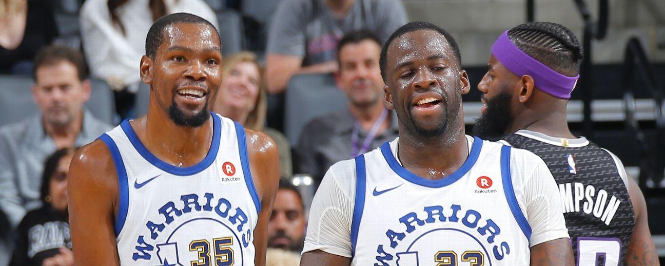 Discusión entre Kevin Durant y Draymond Green dispara alarmas en Golden State