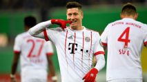 Bayern Munich ease by Paderborn into DFB Pokal semifinals