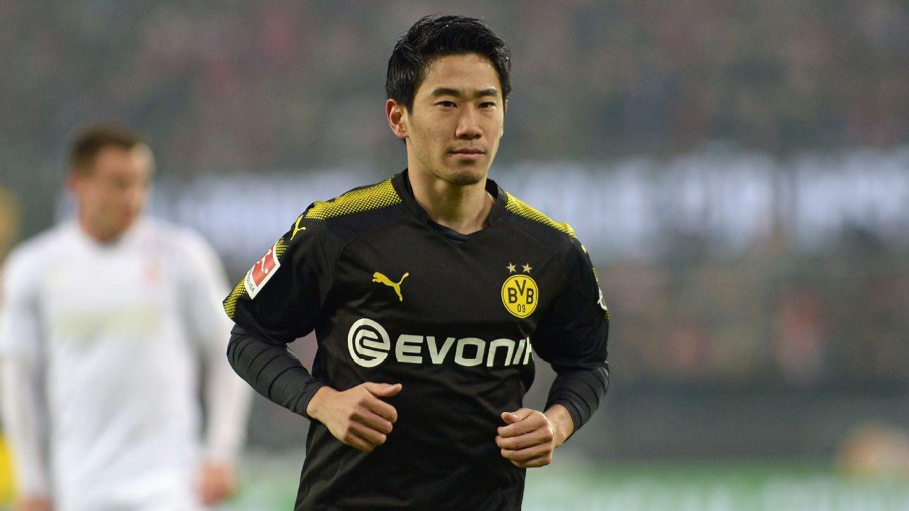 Borussia Dortmund's Shinji Kagawa joins Besiktas on loan